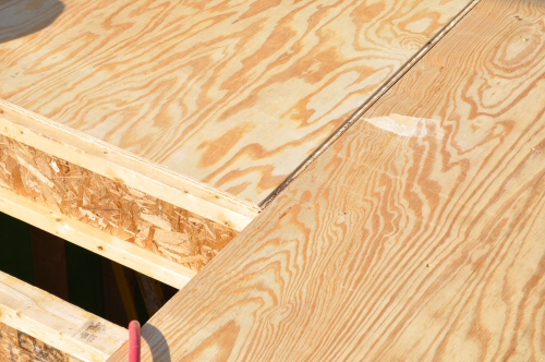 How To Install A Plywood Subfloor One Project Closer - Best material for bathroom subfloor