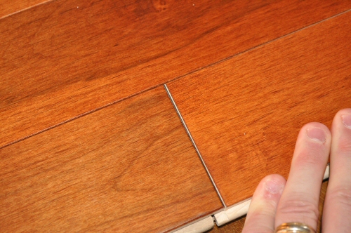 Casa de color hardwood flooring review problems with Unstained hardwood floors