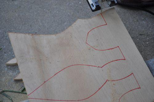 traced bodice