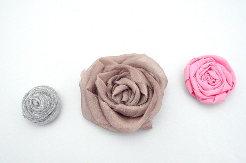 How to Make Fabulous Fabric Flowers (70+ pics, Templates
