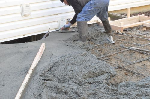 ... Concrete Patio Drainage Solutions, Retaining Walls Green Bay. Rebar .