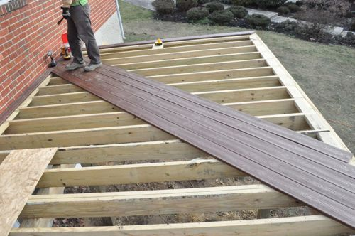 45 Degree Deck Stairs