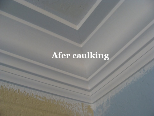How To Paint The Crown Molding