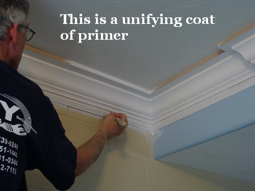 Caulk The Crown Molding
