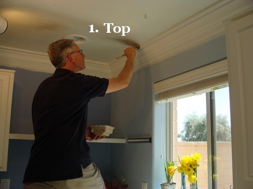 Paint A Three Piece Crown Molding