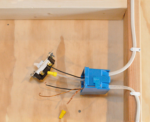 how to wire recessed lighting tabletop walk through