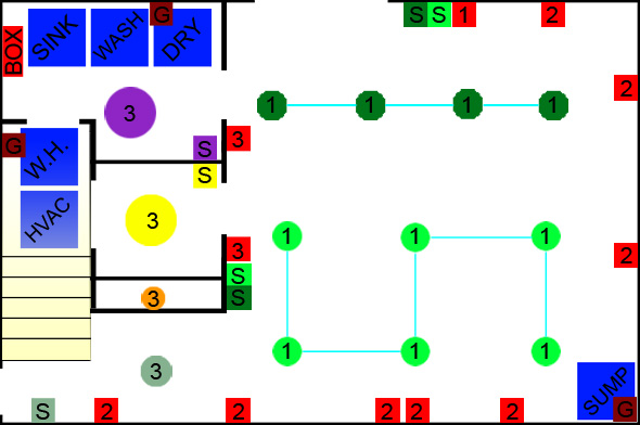 diagram2 finishing a basement, day 3 electrical rough in one project closer rough in wiring diagram at eliteediting.co