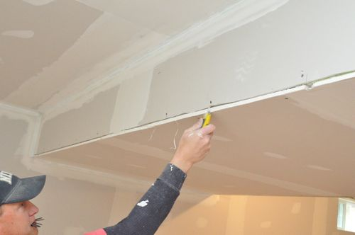 how to cut drywall corner bead