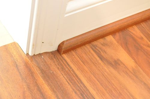 Laminate flooring end molding installation gurus floor