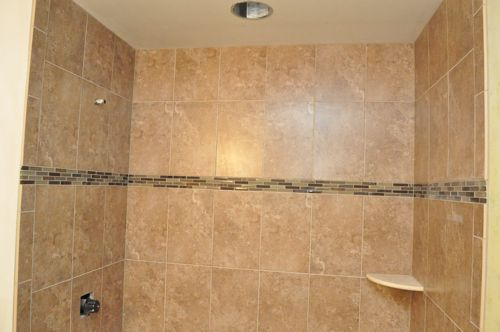 How to tile a bathroom shower walls floor materials Best way to tile around a bath
