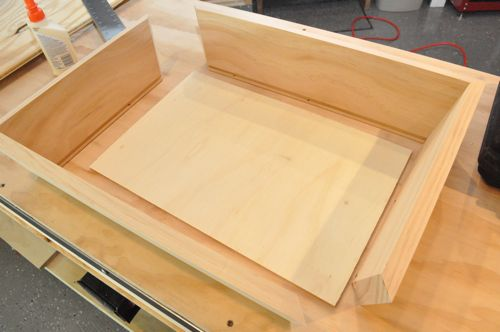 how to make a wooden box without nails