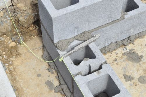 How To Build A Concrete Block Foundation One Project Closer