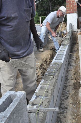 How to build a concrete block foundation one project closer at solutioingenieria Image collections