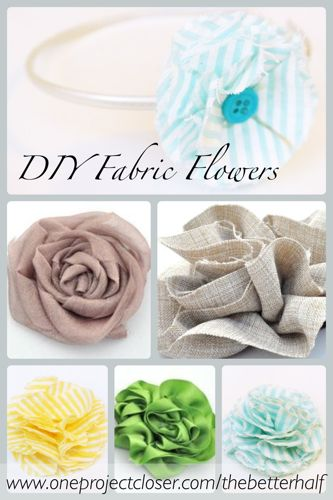 How To Make Fabulous Fabric Flowers 70 Pics Templates One