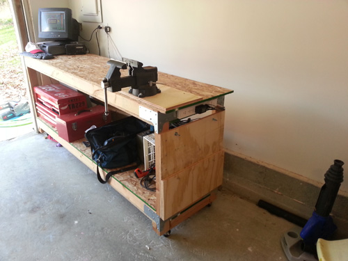 Tremendous How To Build A Heavy Duty Workbench One Project Closer Gmtry Best Dining Table And Chair Ideas Images Gmtryco