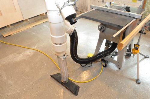 Awesome Basement Woodshop Dust Collection