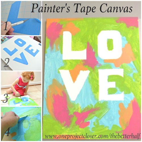 Easy painting ideas on canvas for kids easy craft ideas for Childrens canvas ideas