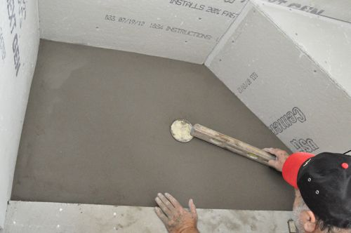Pouring A Shower Pan.How To Pour A Shower Pan One Project Closer