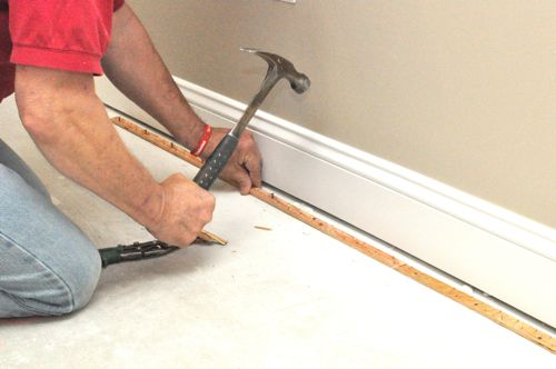 What Is A Carpet Securing Bar Called How To Install Carpet