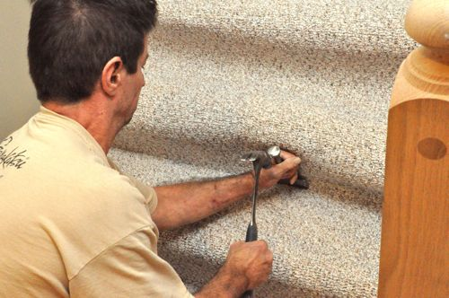 How To Install Carpet Runner On Concrete Stairs Hpricot Com