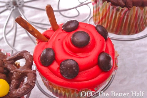 Bug Cupcakes - OPC The Better Half