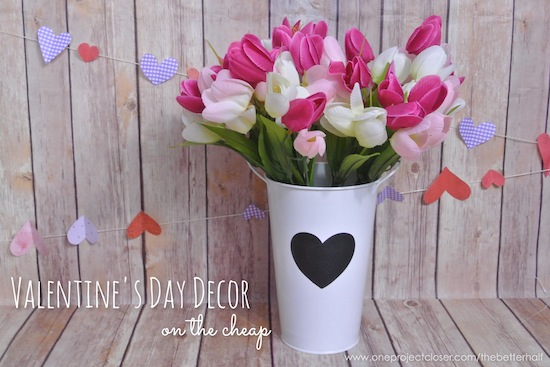 vday on the cheap - One Project Closer