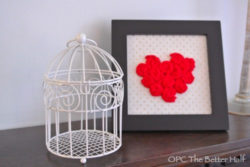 Birdcage and Rosette Frame - OPC The Better Half