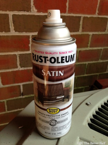 Rust-Oleum Spray Paint - $5 Frame Makeover - OPC The Better Half