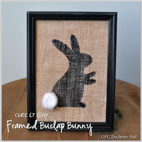 Burlap Bunny - OPC The Better Half
