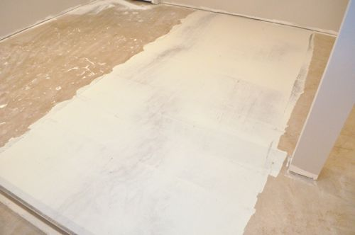 How To Level A Subfloor Before Laying Tile One Project Closer - Hardie board subfloor