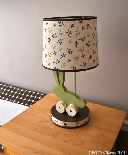 Bunny Lamp - OPC The Better Half