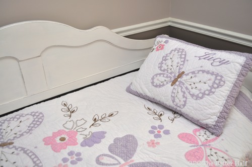 Pottery Barn Quilt - Day Bed Makeover with ASCP - OPC The Better Half