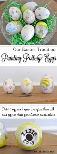 Pottery Egg Tradition - OPC The Better Half