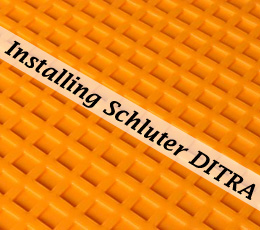 How to Install Schluter DITRA Tile Underlayment - One Project Closer