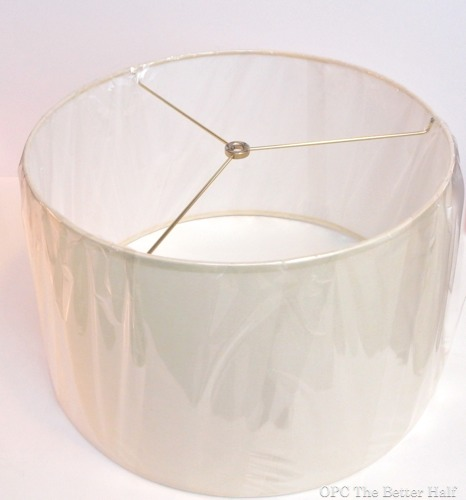 WayFair Drum Shade - OPC The Better Half