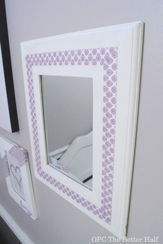 Washi Tape Mirror - OPC The Better Half