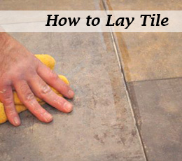 Tile Subfloor Thickness Deflection Installing