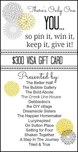 $300 Visa Giveaway!