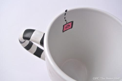 """Tea Time"" Painted Mug - OPC The Better Half"