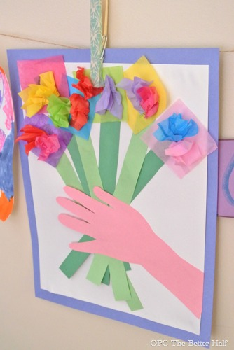 Bouquet of Paper Flowers Craft - OPC The Better Half