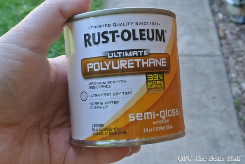Rust-Oleum Semi Gloss Poly Urthane - OPC The Better Half