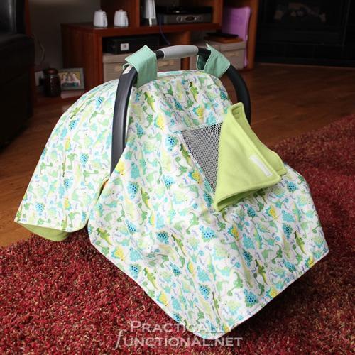 DIY-Waterproof-Car-Seat-Canopy-9