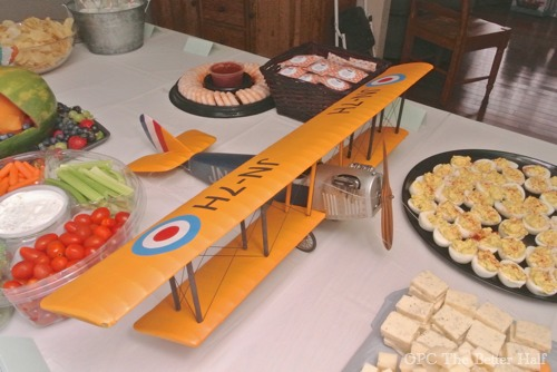 Biplane centerpiece - OPC The Better Half