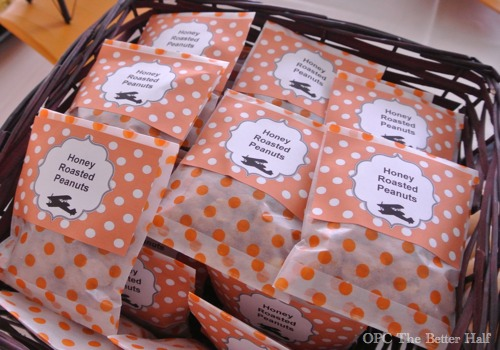 Roasted Peanuts and other Vintage Biplane Baby Shower Ideas - OPC The Better Half