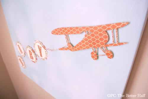 Vintage Biplane Baby Shower Ideas - OPC The Better Half
