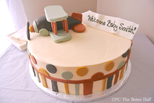 Biplane Cake  and other Vintage Biplane Baby Shower Ideas - OPC The Better Half