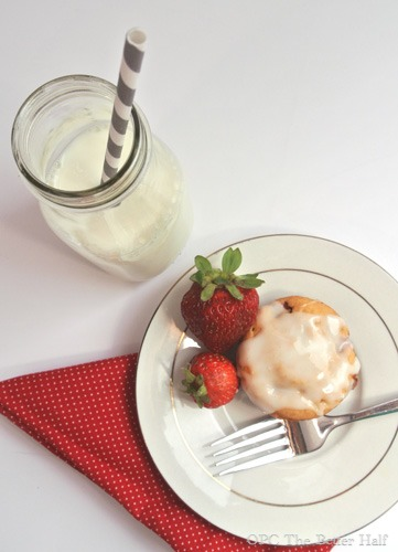 Strawberries and Cream Muffins - OPC The Better Half