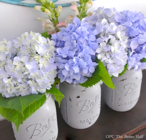 Painted Mason Jars from OPC The Better Half