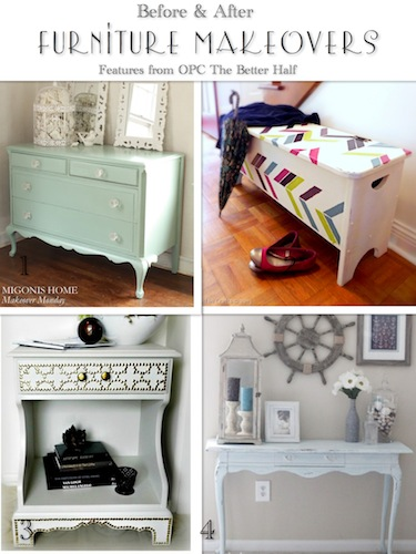 Furniture Makeovers - Features from OPC The Better Half