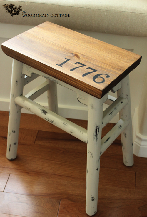 Side Stool Makeover